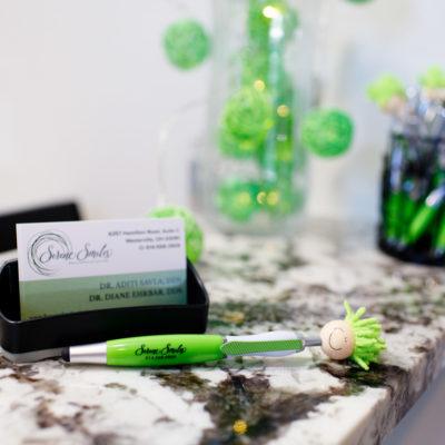 Serene-Smiles-Westerville-front-desk-pen